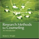 Ebook 978-1452203942 Research Methods for Counseling: An Introduction (Counseling and Professiona