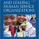 Ebook 978-1412976459 Effectively Managing and Leading Human Service Organizations (SAGE Sourceboo