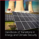 Ebook 978-1857437454 Handbook of Transitions to Energy and Climate Security (Routledge Internatio