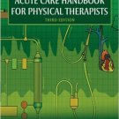 Ebook 978-1416048992 Acute Care Handbook for Physical Therapists