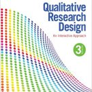 Ebook 978-1412981194 Qualitative Research Design: An Interactive Approach: 41 (Applied Social Res