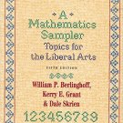 Ebook 978-0742502024 A Mathematics Sampler: Topics for the Liberal Arts