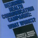 Ebook 978-0803943322 Designing Health Communication Campaigns: What Works?