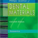 Ebook 978-0721693873 Phillips' Science of Dental Materials (Anusavice Phillip's Science of Dental