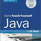 Ebook 978-0672337109 Java in 21 Days, Sams Teach Yourself (Covering Java 8)