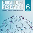 Ebook 978-1483391601 Educational Research: Quantitative, Qualitative, and Mixed Approaches