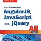 Ebook 978-0672337420 AngularJS, JavaScript, and jQuery All in One, Sams Teach Yourself
