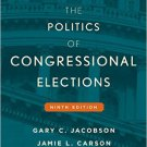 Ebook 978-1442252615 The Politics of Congressional Elections