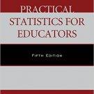 Ebook 978-1442242869 Practical Statistics for Educators