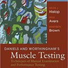 Ebook 978-1455706150 Daniels and Worthingham's Muscle Testing: Techniques of Manual Examination a