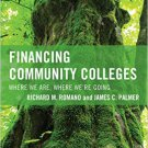 Ebook 978-1475810639 Financing Community Colleges: Where We Are, Where We're Going (The Futures S