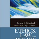 Ebook 978-1412987479 Ethics, Law, and Policy (The SAGE Reference Series on Disability: Key Issues