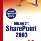 Ebook 978-0672327230 Sams Teach Yourself Microsoft SharePoint 2003 in 10 Minutes
