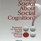 Ebook 978-0803972056 What's Social about Social Cognition?: Research on Socially Shared Cognition