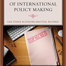 Ebook 978-1442257610 Strategic Analysis in Support of International Policy Making: Case Studies i