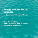 Ebook 978-1138954816 Energy and the Social Sciences: An Examination of Research Needs (Routledge