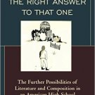 Ebook 978-1475816983 Puzzle Me the Right Answer to that One: The Further Possibilities of Literat