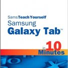 Ebook 978-0672336829 Sams Teach Yourself Samsung GALAXY Tab in 10 Minutes (Sams Teach Yourself --