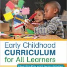 Ebook 978-1452240299 Early Childhood Curriculum for All Learners: Integrating Play and Literacy A