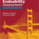 Ebook 978-1452282442 Evaluability Assessment: Improving Evaluation Quality and Use