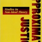 Ebook 978-0847687541 Approximate Justice: Studies in Social, Political, and Legal Philosophy