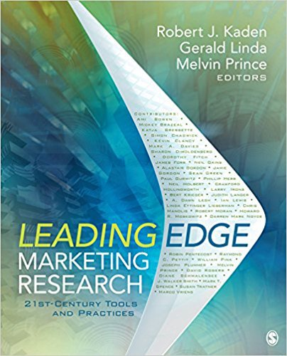 Ebook 978-1412991315 Leading Edge Marketing Research: 21st-Century Tools and Practices