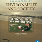 Ebook 978-1412927611 Encyclopedia of Environment and Society: FIVE-VOLUME SET