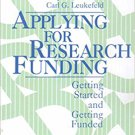Ebook 978-0803953642 Applying for Research Funding: Getting Started and Getting Funded