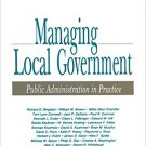 Ebook 978-0803939394 Managing Local Government: Public Administration in Practice
