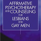 Ebook 978-0761917694 Affirmative Psychotherapy and Counseling for Lesbians and Gay Men