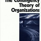 Ebook 978-0761915744 The Contingency Theory of Organizations (Foundations for Organizational Scie