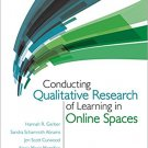 Ebook 978-1483333847 Conducting Qualitative Research of Learning in Online Spaces