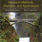 Ebook 978-1452220185 Research Methods, Statistics, and Applications