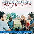 Ebook 978-1412988179 Doing Collaborative Research in Psychology: A Team-Based Guide