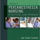 Ebook 978-1437718942 Drain's PeriAnesthesia Nursing: A Critical Care Approach