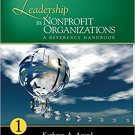 Ebook 978-1412968867 Leadership in Nonprofit Organizations: A Reference Handbook