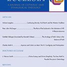 Ebook Pro Ecclesia Vol 21-N2: A Journal of Catholic and Evangelical Theology