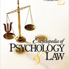 Ebook 978-1412951890 Encyclopedia of Psychology and Law