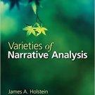 Ebook 978-1412987554 Varieties of Narrative Analysis