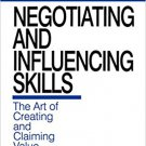 Ebook 978-0761911852 Negotiating and Influencing Skills: The Art of Creating and Claiming Value