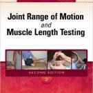 Ebook 978-1416058847 Joint Range of Motion and Muscle Length Testing
