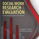 Ebook 978-1452259642 Social Work Research and Evaluation: Examined Practice for Action