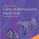 Ebook 978-0323008907 Manual of Clinical Behavioral Medicine for Dogs and Cats