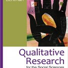 Ebook 978-1412998642 Qualitative Research for the Social Sciences