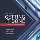 Ebook 978-1442273610 Getting It Done: A Guide for Government Executives (IBM Center for the Busin