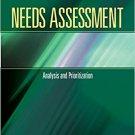 Ebook 978-1412975575 Needs Assessment: Analysis and Prioritization  (Book 4) (Needs Assessment Ki
