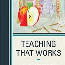 Ebook 978-1475825930 Teaching That Works: Effective Practice Combined with Theory and Research