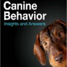 Ebook 978-1416054191 Canine Behavior: Insights and Answers
