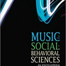 Ebook 978-1452283036 Music in the Social and Behavioral Sciences: An Encyclopedia