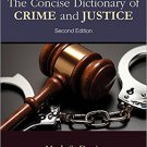 Ebook 978-1483380933 The Concise Dictionary of Crime and Justice